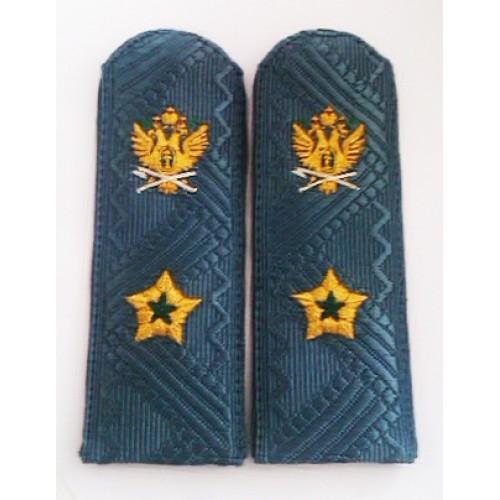 Погоны для высшего состава Генерал-Майор судебный пристав