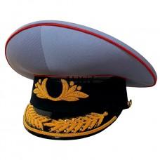 Фуражка Полиции парадная, вышивка, под заказ