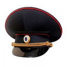 Фуражка Полиции, высокая тулья, инд. пошив