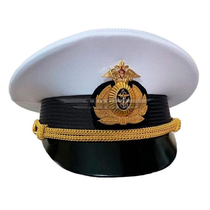Фуражка Военно-морского флота офисная, белый верх