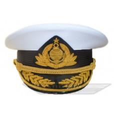 Фуражка яхтенная белая 00024