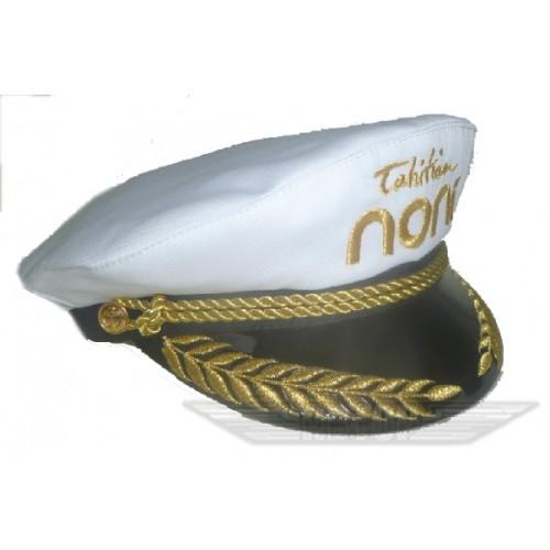 Фуражка-яхтсменка (белая и синяя) 00070