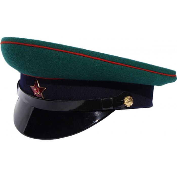 Фуражка Пограничные войска СССР (цена без фурнитуры)