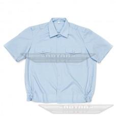 Рубашка форменная голубая короткий рукав