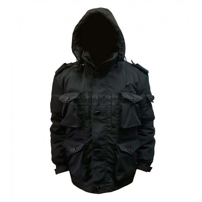 Куртка Смог чёрная зимняя Автор