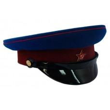 Фуражка НКВД васильковая тулья и краповый окол