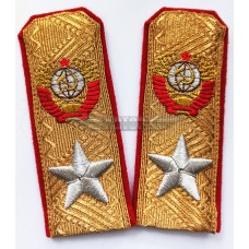 Погоны Маршала СССР парадные золотые, 080