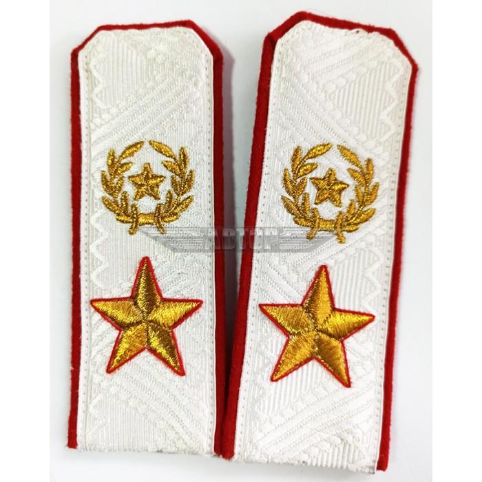 Погоны Маршала СССР  белый галун