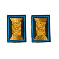 Новые офицерские петличные знаки для ВС РФ