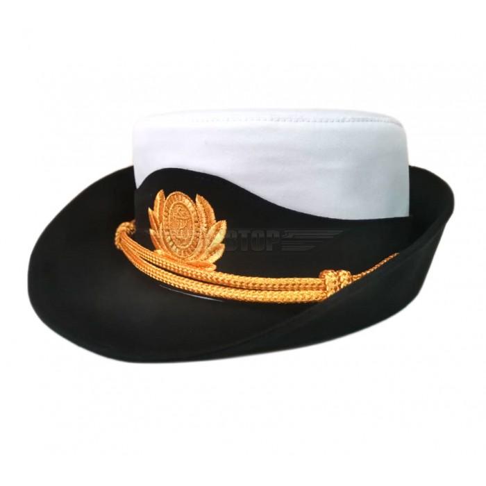Шляпа женская офицерская ВМФ РФ для формы нового образца