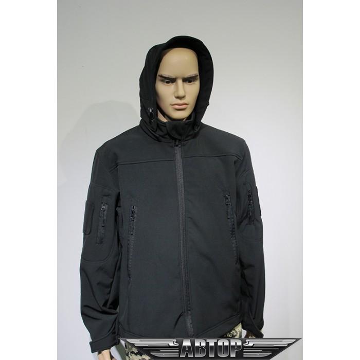 Куртка Софтшелл черный